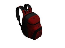 Outdoor Travel Backpack Bag 3d model