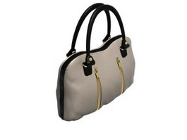 Fashion lady handbag 3d model