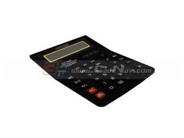 Desk Top calculator 3d model