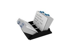 Memo holder box 3d model
