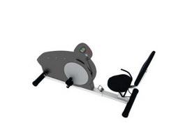 Spinning Bike Fitness Equipment 3d model