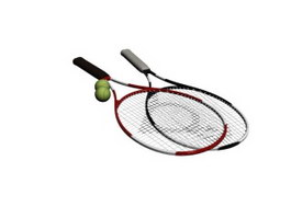 Tennis Rackets 3d preview