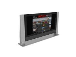 Thomson flat-screen TV 3d model