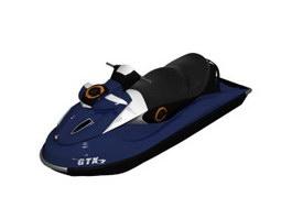 Sea Jet Boat 3d model
