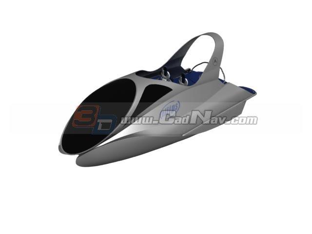 jet ski 3d model free download