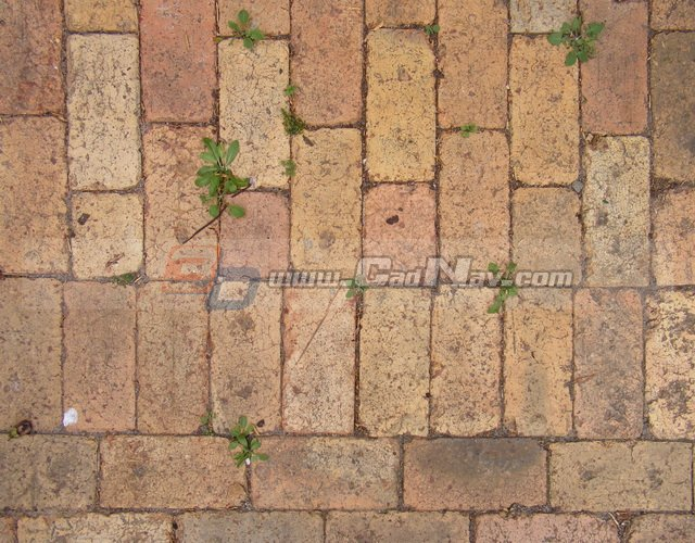 Rough Covered Old Brick Floor Texture Image 3987 On Cadnav