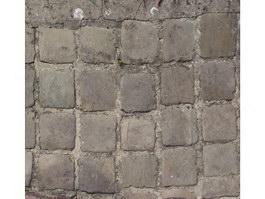 Vintage stone pavement texture