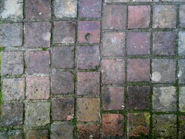 Brick floor antiquate and squalor texture