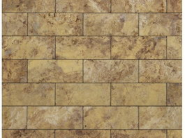 Beige marble strip wall tile texture