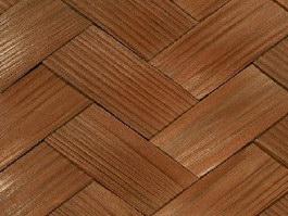 Bamboo woven mat texture