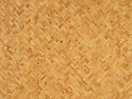 Bamboo strip mat texture