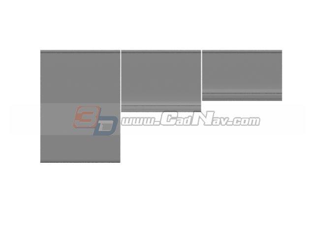 Office Window Roller Shutter 3d Model 3dmax Files Free