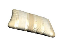Fiber pillow 3d model