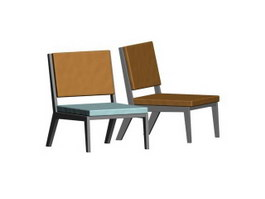 Outdoor Leisure Chair 3d model