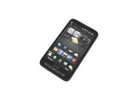 Android smartphone 3d model