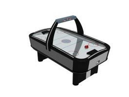 Rod Hockey Table 3d model
