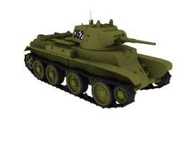 MBT main battle tank 3d model