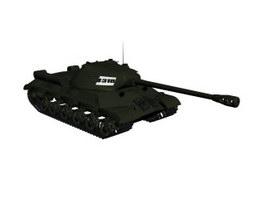 Light tank 3d model