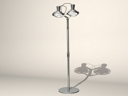 Electric floor lamp 3d model