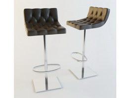 bar stool 3d model free download