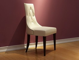 Hotel Banquet Chair 3d model