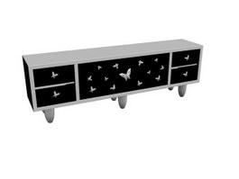 Modern Design TV Cabinet 3d model