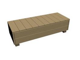 Tool box side cabinet 3d model