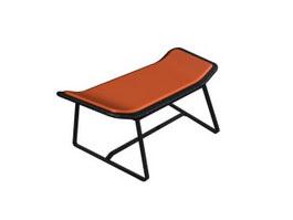Home Furniture Footstool 3d model