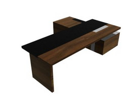 Executive Desk Table 3d model