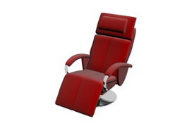 Eames office lounge chair 3d model