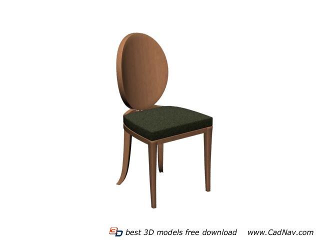 Restaurant dining room chair 3d model 3DMax files free  : 1 130PG41101V3 from www.cadnav.com size 640 x 480 jpeg 17kB