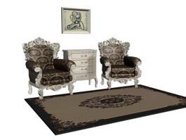Carpets And Rugs 3d Model Free Download Cadnav Com