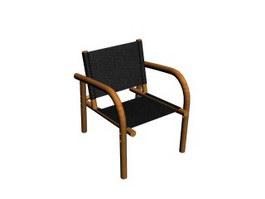 Canvas Leisure Chair 3d model