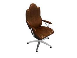 Luxury Boss Chair 3d model