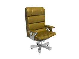 Boss massage chair 3d model