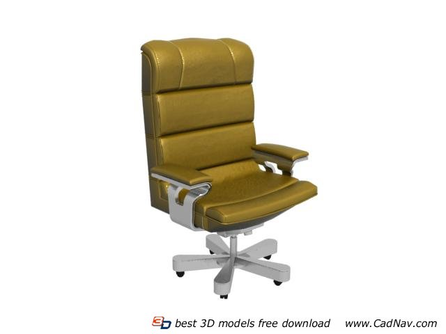 Boss massage chair 3d model 3DMax - 21.4KB