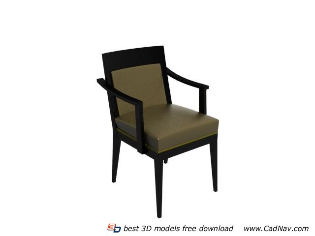 dining chair 3d model free download