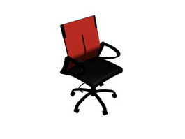 Lift swivel chair 3d model