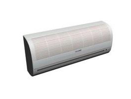 Split hanging air conditioner 3d model