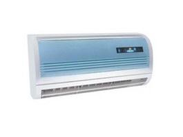 Indoor unit split air conditioner 3d model
