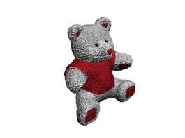 Plush Toy Bear 3d model