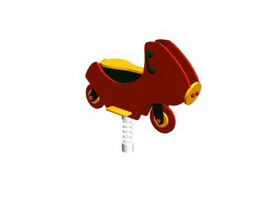 Playground Spring Rocking Horse 3d model