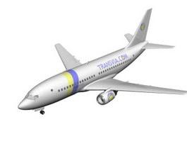 Transavia Airlines Airliner 3d model