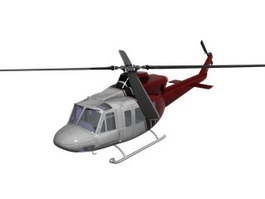 Multi-Role Light Helicopter 3d model