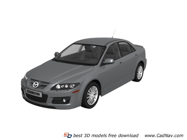 Mazda 3 Axela 3d Model 3dmax Files Free Download