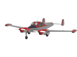 Light Sport Aircraft 3d model