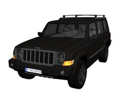 2010 Jeep Wrangler Unlimited Mountain 3d model