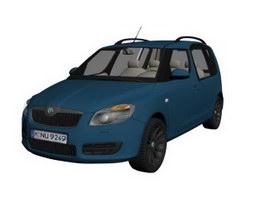 Škoda Yeti 3d model