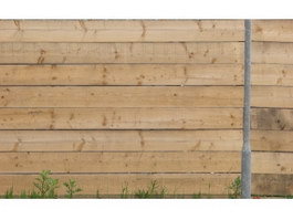 Wooden fence with weeds texture