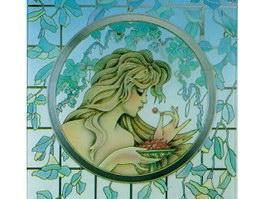 Window Decorative Art Glass texture
